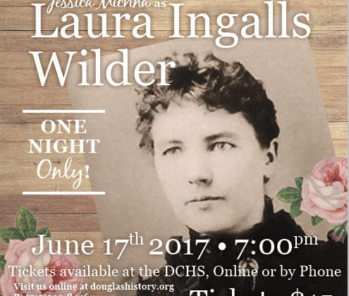 Laura Ingalls Wilder - Douglas County Historical Society